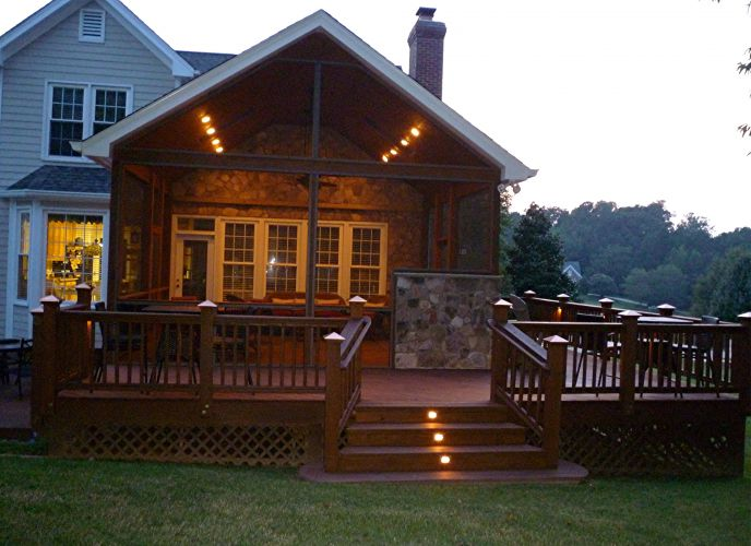 Photo Galleries Outdoor Living Screened Porches Amp Decks